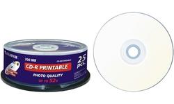 Fujifilm CD-R 52x 25pk Printable Spindle