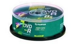 Fujifilm DVD+R 16x 25pk Printable Spindle