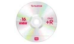 Fujifilm DVD+R 16x 10pk Slim case