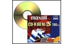 Maxell CD-R 52x 10pk Slim case