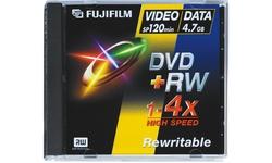 Fujifilm DVD+RW 4x 5pk Jewel case
