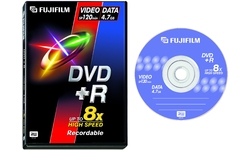 Fujifilm DVD+R 8x 5pk Video box