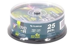 Fujifilm DVD-R 16x 25pk Spindle