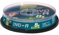 Fujifilm DVD-R 16x 10pk Spindle
