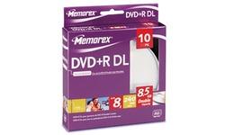 Memorex DVD+R DL 8x 10pk Spindle