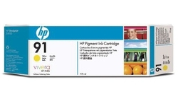 HP 91 Yellow 3pk