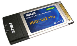 Asus WL-107G Wireless adapter 54Mbit