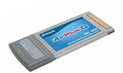 D-Link AirPlus G Wireless Cardbus Adapter