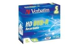 Verbatim HD-DVD-R 2x 5pk Jewel case