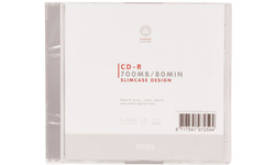 Icidu CD-R 52x 10pk Slim case