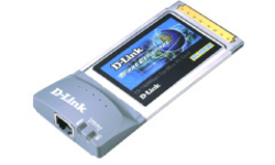 D-Link CardBus 10/100Mbps Fast Ethernet adapter