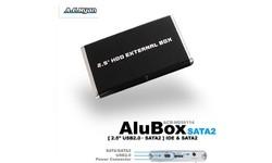 """AC Ryan AluBox 2.5"""" USB2/eSata"""