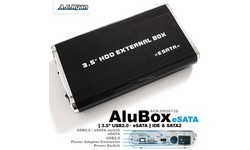 """AC Ryan AluBox 3.5"""" USB2/eSata"""