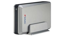 """Verbatim External 3.5"""" Hard Drive 750GB USB2 Silver"""