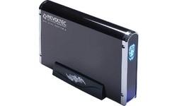"Revoltec 3.5"" Alu Book Edition 2 USB2 Black"