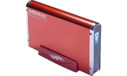 """Revoltec 3.5"""" Alu Book Edition 2 USB2 Red"""