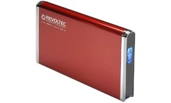 "Revoltec 2.5"" Alu Book Edition 2 USB2 Red"