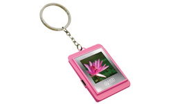 "Sweex 1.5"" Digital Photo Key Chain Pink"