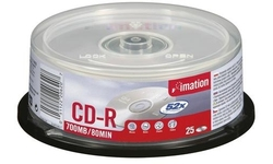 Imation CD-R 52x 25pk Spindle