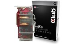 Club 3D Radeon HD 3870 512MB Passive