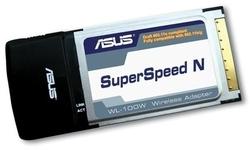 Asus WL-100W SuperSpeed N PC Card