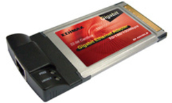 Edimax 10/100Mbps PCMCIA Adapter