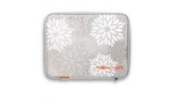 "Golla Laptop Sleeve Grey Flower 13"""