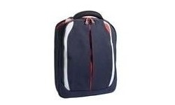 "Tech Air Nylon Backpack Navy Blue/Orange 15.4"""