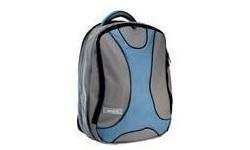 "Tech Air Nylon Backpack Grey/Blue 15.4"""