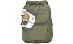 "Targus Canvas Backpack Green 15.4"""