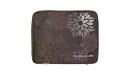"Golla Laptop Sleeve Brown + Pink Flower 15.4"""