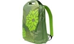 "Golla Backpack 15.4"" Bloom Green-Flower Print"