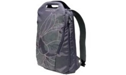 "Golla Backpack 15.4"" Tulip Grey-Flower Print"