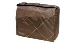 "Golla Messenger Bag 15.4"" Block Brown"