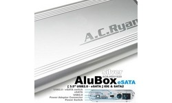 "AC Ryan AluBox 3.5"" eSata Silver"