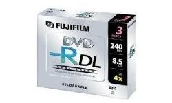 Fujifilm DVD-R DL 2.4x 3pk Jewel case