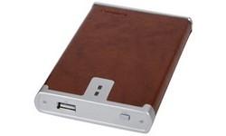 """König 2.5"""" Leather Brown IDE HDD Case"""