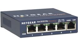 Netgear 5-port Fast Ethernet Network Switch