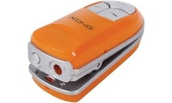 König Clip-On MP3 Player 1GB Orange