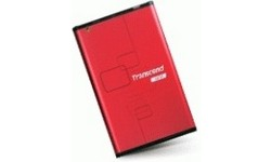 "Transcend StoreJet USB 2.0 2.5"" SATA HDD Enclosure Red"