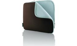 "Belkin Neoprene Sleeve for Notebooks up to 15.4"" Chocolate/Tourmaline"