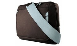 """Belkin Messenger Bag for Notebooks up to 15.4"""" Chocolate/Tourmaline"""