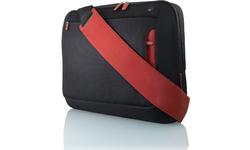 """Belkin Messenger Bag for Notebooks up to 17"""" Jet/Cabernet"""