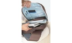 """Belkin Sling Bag for Notebooks up to 15.4"""" Jet/Cabernet"""