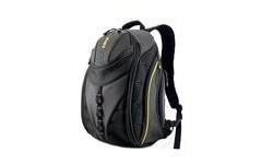 """Mobile Edge Express Backpack Notebook Case 15.4"""" Black / Yellow Accents"""