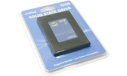"""Crucial Solid State Disk 2.5"""" 32GB SLC SATA2"""