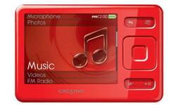Creative Zen 4GB Red