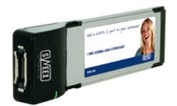 Sweex 1 Port External SATA II ExpressCard