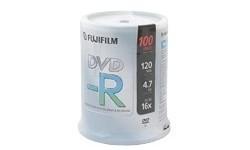 Fujifilm DVD-R 16x 100pk Spindle