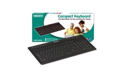 Eminent Compact Keyboard Black